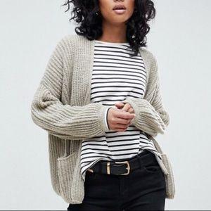 Brand new ASOS chunky knit sweater cardigan